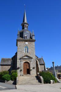 Eglise Saint Pierre après