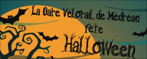 gare vélorail halloween