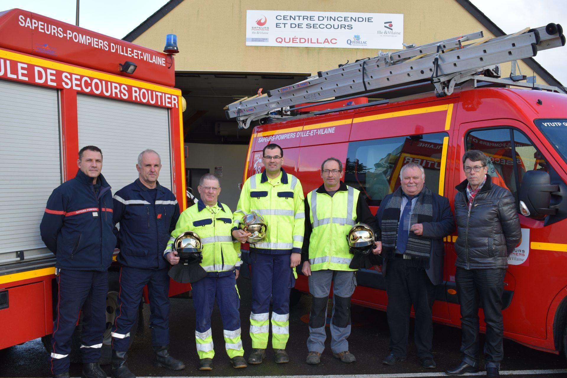 Sapeurs pompiers volontaires : reportage