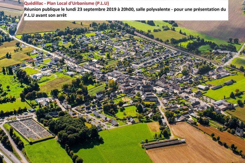 Plan Local d'Urbanisme – Réunion publique