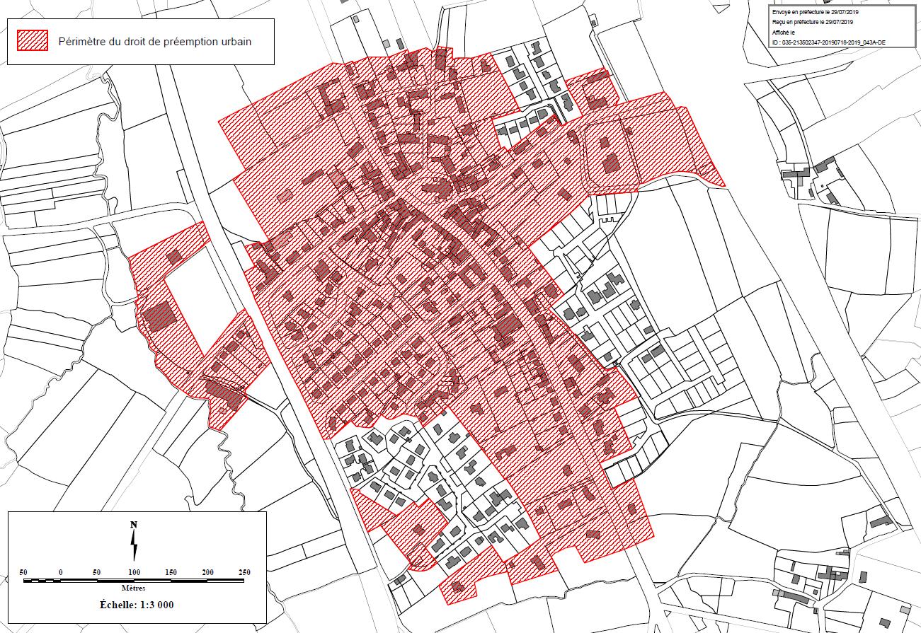 Plan Local d'Urbanisme – Droit de Préemption Urbain (DPU)